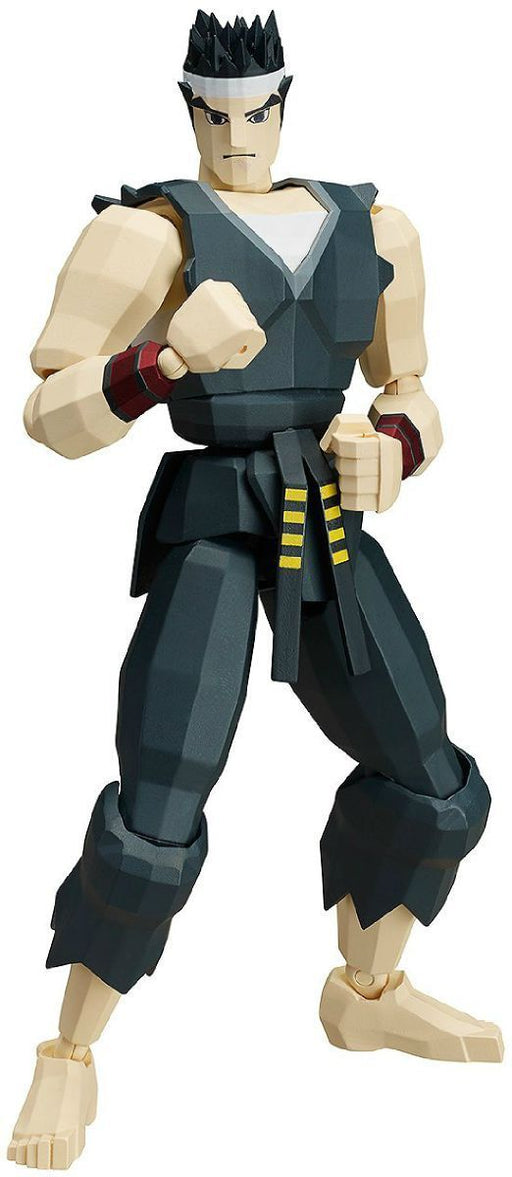 figma SP-067a Virtua Fighter AKIRA YUKI Action Figure FREEing NEW from Japan_1
