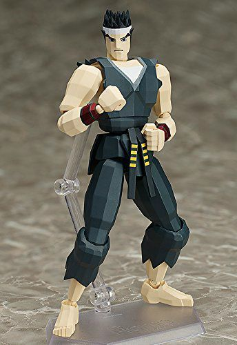 figma SP-067a Virtua Fighter AKIRA YUKI Action Figure FREEing NEW from Japan_2