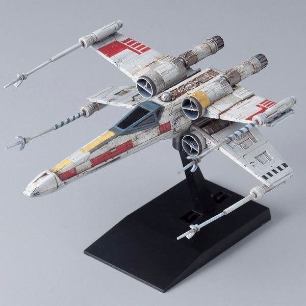 BANDAI Star Wars VEHICLE MODEL 002 X-WING STARFIGHTER Model Kit NEW from Japan_2
