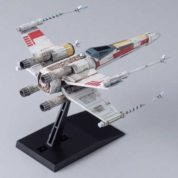 BANDAI Star Wars VEHICLE MODEL 002 X-WING STARFIGHTER Model Kit NEW from Japan_3