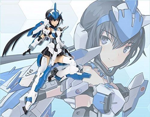FRAME ARMS GIRL STYLET BLUE IMPLUSE with EGGPLANE Model Kit KOTOBUKIYA NEW Japan_1