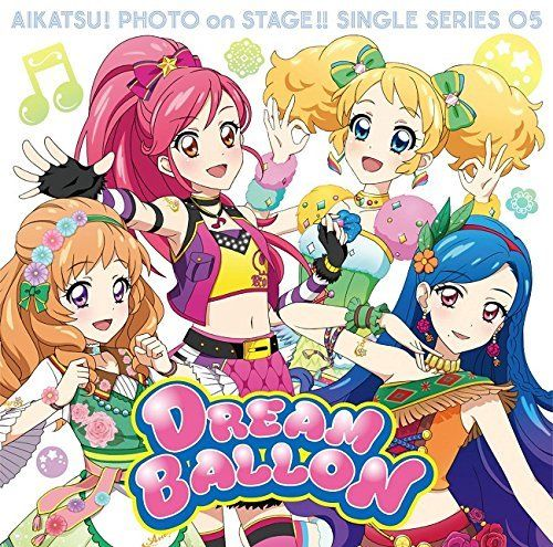 [CD] Aikatsu! Photo on Stage  Single Series 05 DREAM BALLON NEW from Japan_1