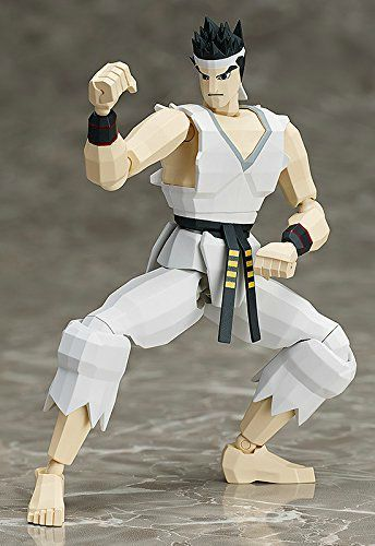 figma SP-067b Virtua Fighter AKIRA YUKI 2P Color Ver Action Figure FREEing NEW_2