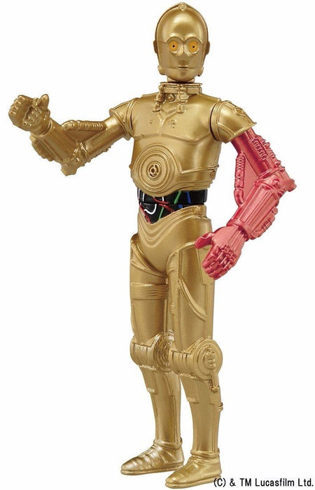 Metal Figure Collection MetaColle Star Wars Force Awakens 16 C-3PO TAKARA TOMY_3