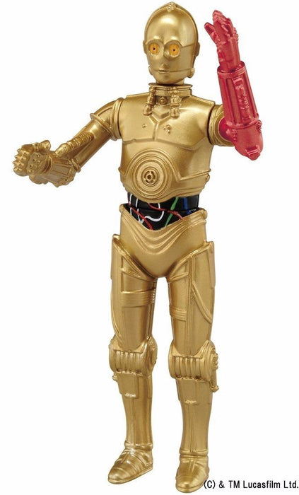 Metal Figure Collection MetaColle Star Wars Force Awakens 16 C-3PO TAKARA TOMY_4