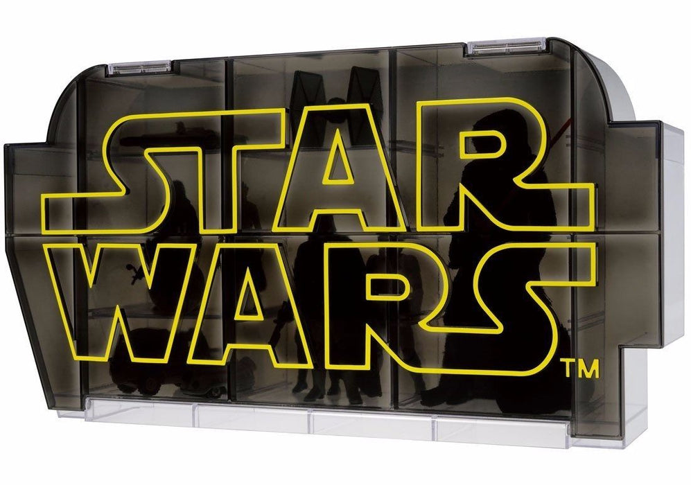 STAR WARS The Force Awakens LOGO DISPLAY CASE TAKARA TOMY NEW from Japan Tomica_1