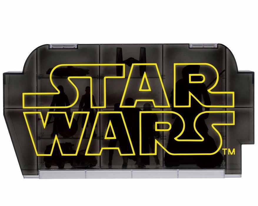 STAR WARS The Force Awakens LOGO DISPLAY CASE TAKARA TOMY NEW from Japan Tomica_2