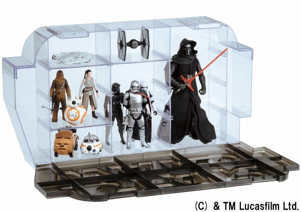 STAR WARS The Force Awakens LOGO DISPLAY CASE TAKARA TOMY NEW from Japan Tomica_4