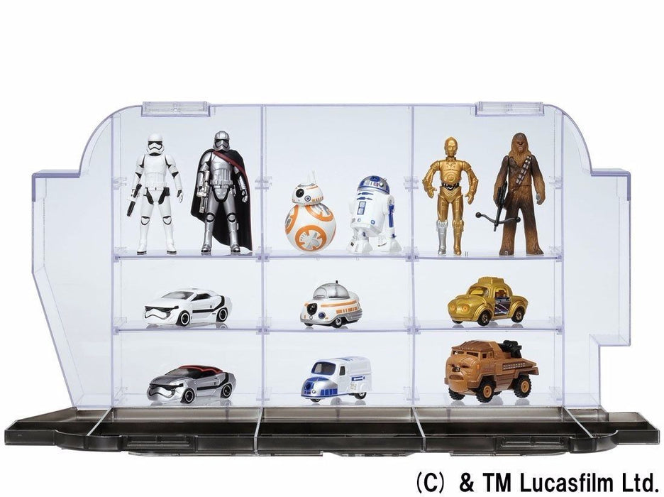 STAR WARS The Force Awakens LOGO DISPLAY CASE TAKARA TOMY NEW from Japan Tomica_5