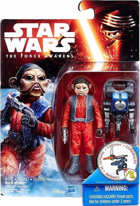 STAR WARS The Force Awakens BASIC FIGURE NINE NUNB TAKARA TOMY NEW from Japan_2