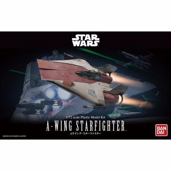BANDAI 1/72 A-WING STARFIGHTER Plastic Model Kit Star Wars Episode 6 NEW Japan_1