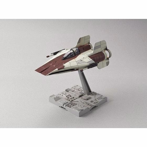 BANDAI 1/72 A-WING STARFIGHTER Plastic Model Kit Star Wars Episode 6 NEW Japan_2