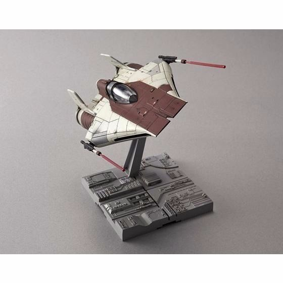 BANDAI 1/72 A-WING STARFIGHTER Plastic Model Kit Star Wars Episode 6 NEW Japan_3