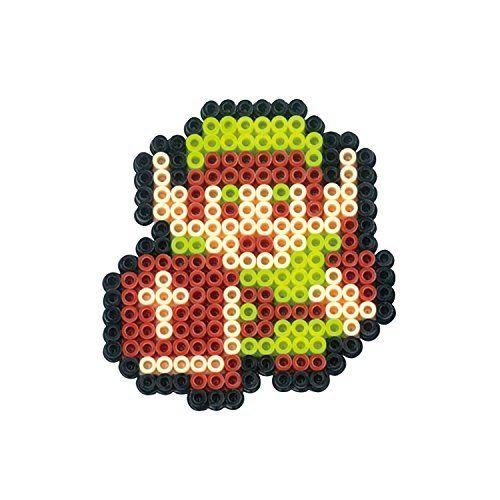 Kawada Nano Beads 108 The Legend of Zelda LINK / HEART / KEY Perler Beads Kit_2