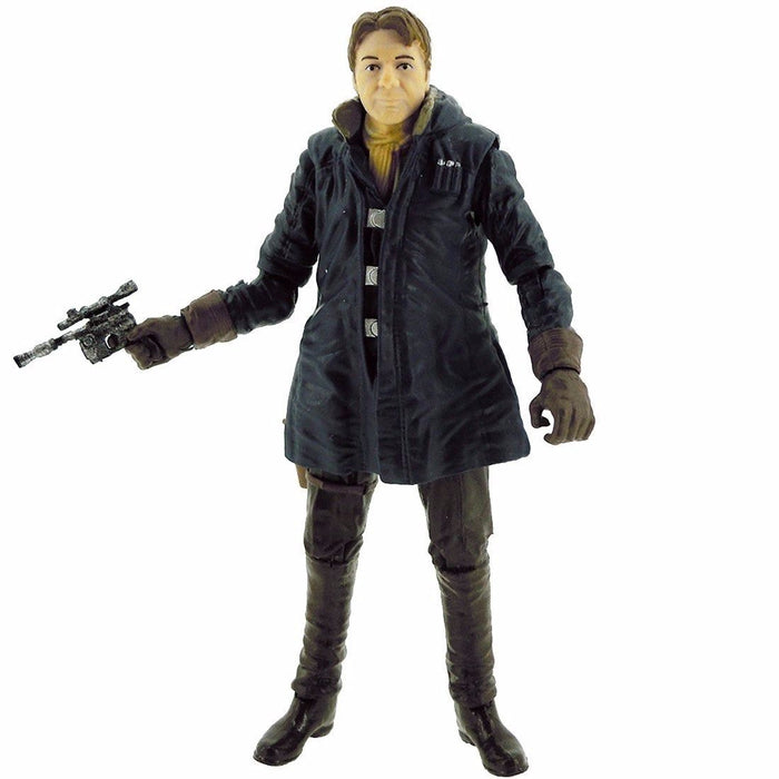 STAR WARS The Force Awakens BLACK Series BASIC FIGURE HAN SOLO TAKARA TOMY NEW_1