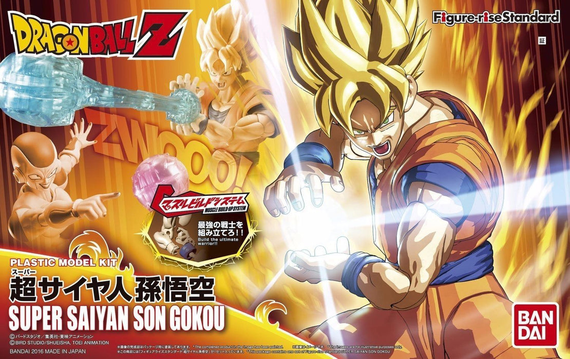 BANDAI Figure-rise Standard Dradon Ball Z SUPER SAIYAN SON GOKOU Mode Kit NEW_1
