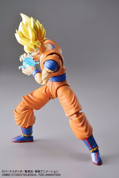 BANDAI Figure-rise Standard Dradon Ball Z SUPER SAIYAN SON GOKOU Mode Kit NEW_3