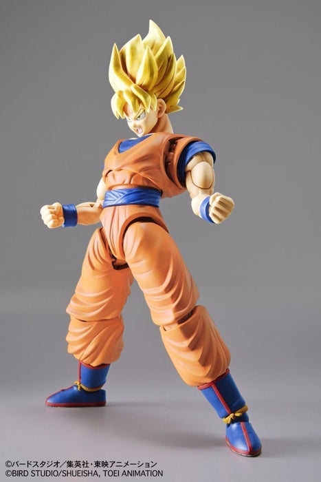 BANDAI Figure-rise Standard Dradon Ball Z SUPER SAIYAN SON GOKOU Mode Kit NEW_6