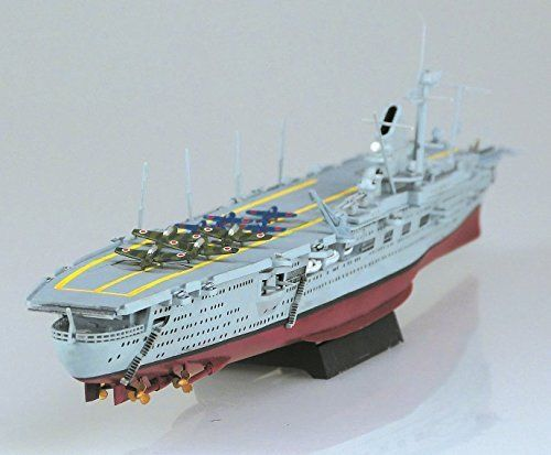 Kanmusu KanColle Aircraft Carrier Graf Zeppelin 1/720 Plastic Model Kit NEW_3