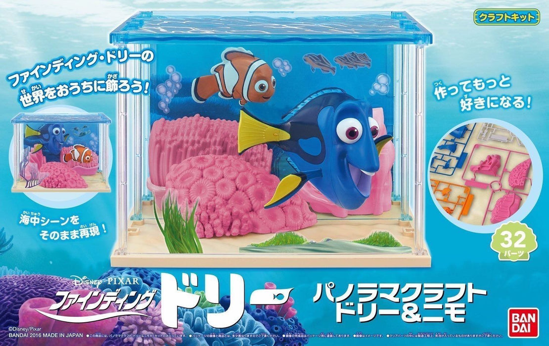 BANDAI Panorama Craft Finding Dory DORY & NEMO Plastic Model Kit NEW from Japan_1