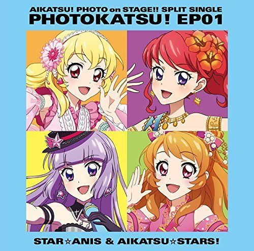 [CD] Aikatsu! Photo on Stage!! Split Single PHOTOKATSU! EP 01 NEW from Japan_1