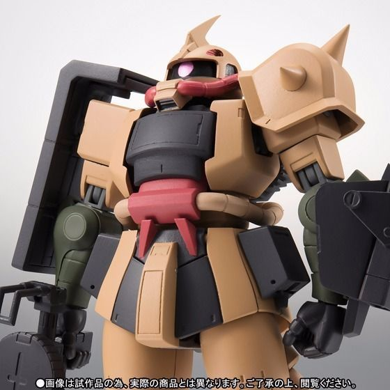 ROBOT SPRITS SIDE MS MS-06D ZAKU DESERT TYPE Ver A.N.I.M.E. Figure BANDAI NEW_2