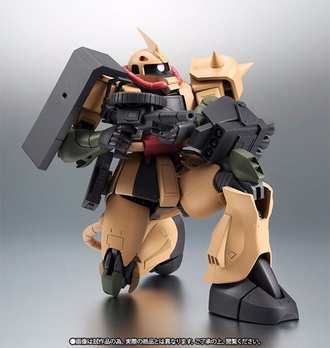 ROBOT SPRITS SIDE MS MS-06D ZAKU DESERT TYPE Ver A.N.I.M.E. Figure BANDAI NEW_5
