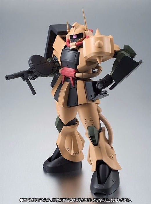 ROBOT SPRITS SIDE MS MS-06D ZAKU DESERT TYPE Ver A.N.I.M.E. Figure BANDAI NEW_7
