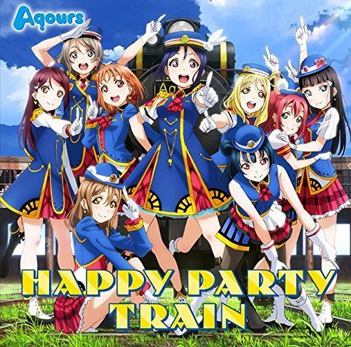 [CD, Blu-ray] Love Live! Sunshine!! 3rd Single: Happy Party Train NEW_1