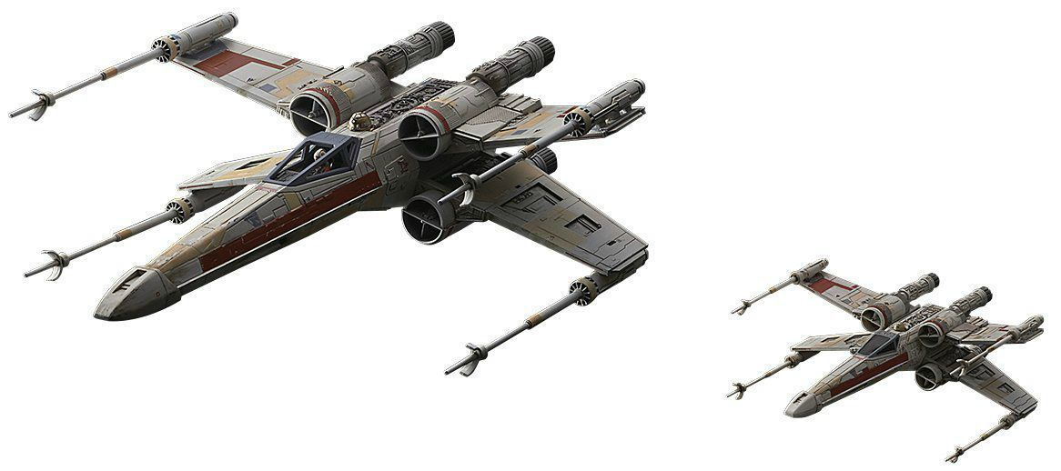 STAR WARS ROGUE ONE 1/72 RED SQUADRON X-WING STARFIGHTER BANDAI NEW from Japan_2