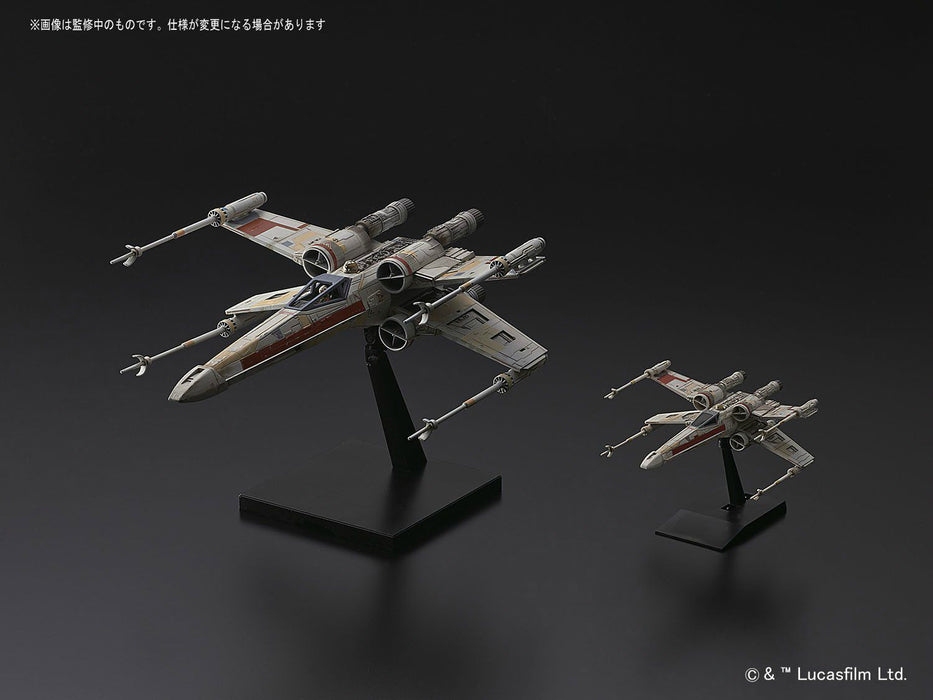 STAR WARS ROGUE ONE 1/72 RED SQUADRON X-WING STARFIGHTER BANDAI NEW from Japan_3
