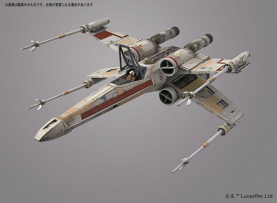 STAR WARS ROGUE ONE 1/72 RED SQUADRON X-WING STARFIGHTER BANDAI NEW from Japan_5