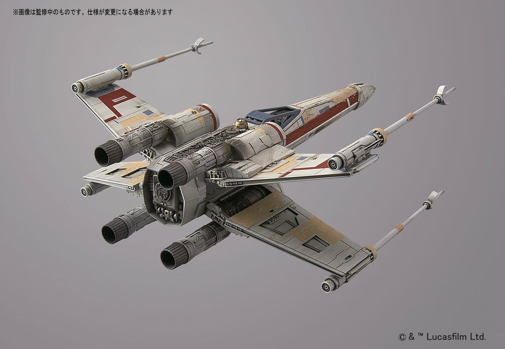 STAR WARS ROGUE ONE 1/72 RED SQUADRON X-WING STARFIGHTER BANDAI NEW from Japan_6