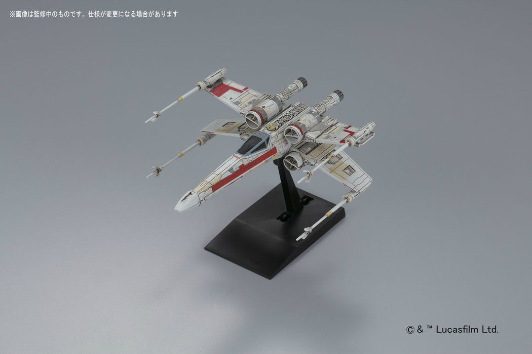STAR WARS ROGUE ONE 1/72 RED SQUADRON X-WING STARFIGHTER BANDAI NEW from Japan_7