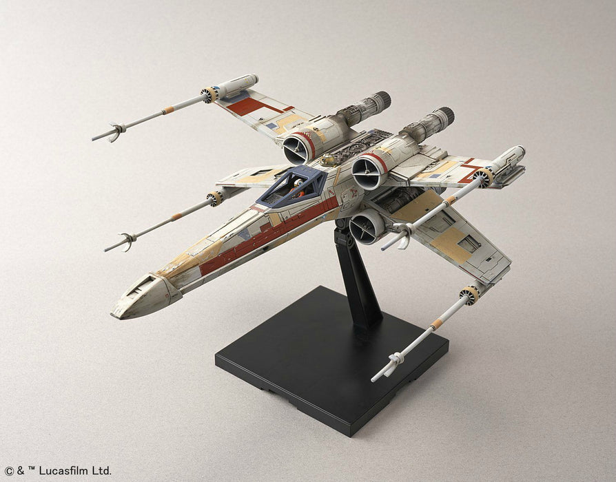 STAR WARS ROGUE ONE 1/72 RED SQUADRON X-WING STARFIGHTER BANDAI NEW from Japan_8