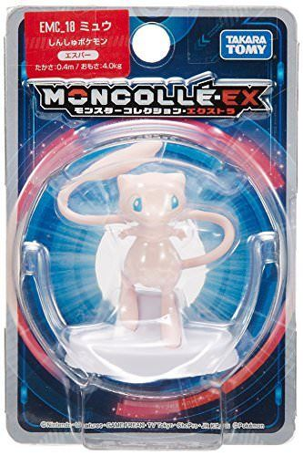 Pokemon Monster Collection Moncolle-EX MEW Figure TAKARA TOMY NEW from Japan_3
