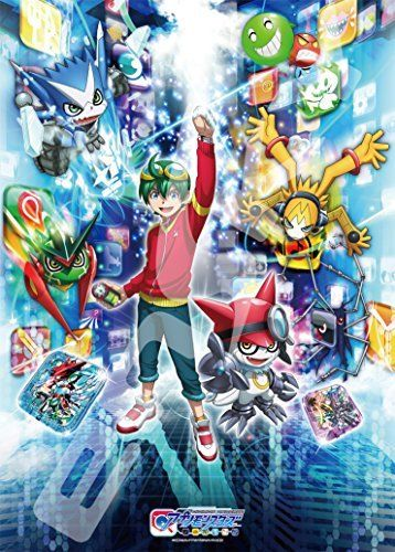 Ensky Digimon Universe Appli Monsters Encounter with the Appmon Jigsaw Puzzles_1