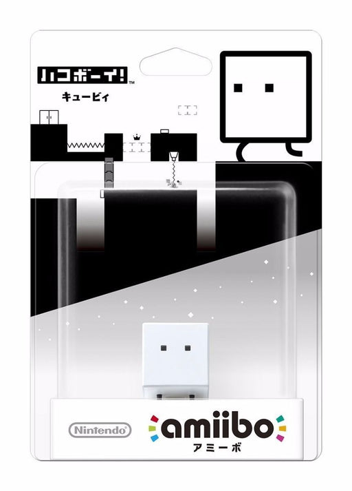 Nintendo amiibo BoxBoy! (Hakoboy!) Qbby 3DS Wii Accessories NEW from Japan F/S_2