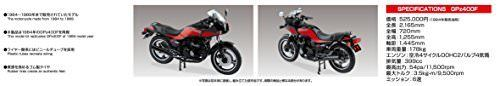 Aoshima 1/12 BIKE Kawasaki GPz400F Plastic Model Kit from Japan NEW_6