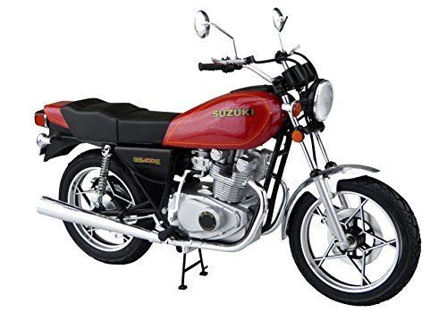 Aoshima 1/12 BIKE Suzuki GS400E Plastic Model Kit from Japan NEW_2