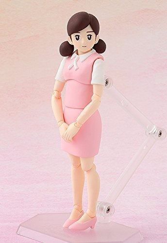 figma SP-091e FUCHICO ON THE CUP Pink Action Figure FREEing NEW from Japan F/S_2