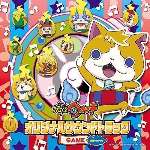 [CD] Youkai Watch Original Soundtrack GAME NEW from Japan_1