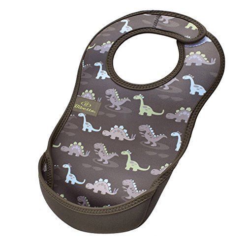Bibetta Vivetta Waterproof Spinning Apron Ultra Bib Medium Dinosaur NEW_1