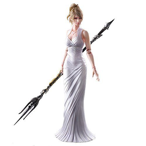 Square Enix Final Fantasy XV Play Arts Lunafreya Nox Fleuret Figure from Japan_1