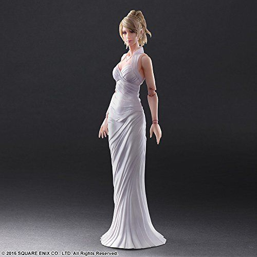 Square Enix Final Fantasy XV Play Arts Lunafreya Nox Fleuret Figure from Japan_3