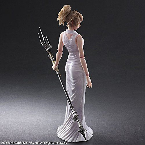 Square Enix Final Fantasy XV Play Arts Lunafreya Nox Fleuret Figure from Japan_4