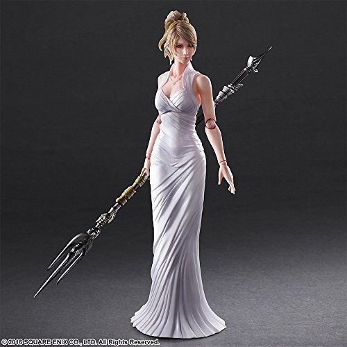 Square Enix Final Fantasy XV Play Arts Lunafreya Nox Fleuret Figure from Japan_6