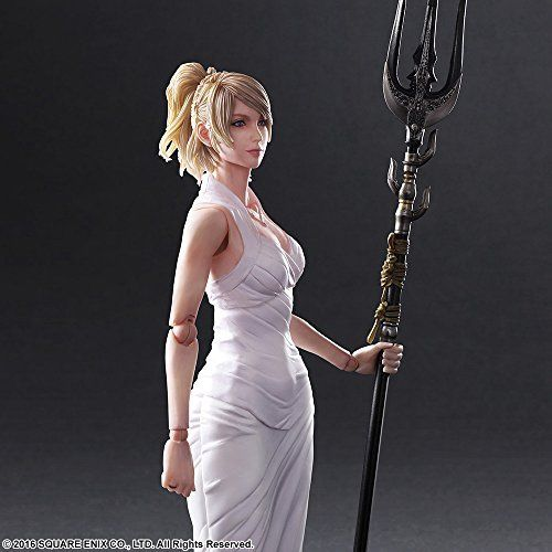 Square Enix Final Fantasy XV Play Arts Lunafreya Nox Fleuret Figure from Japan_7