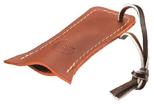 CAPTAIN STAG UH-19 Sierra Cup Leather Handle Cover Brown Outdoor Goods New Japan_1