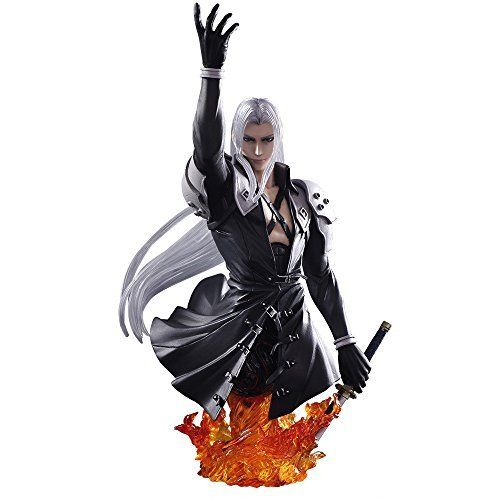 Square Enix Static Arts Bust Final Fantasy VII Sephiroth Figure from Japan_1